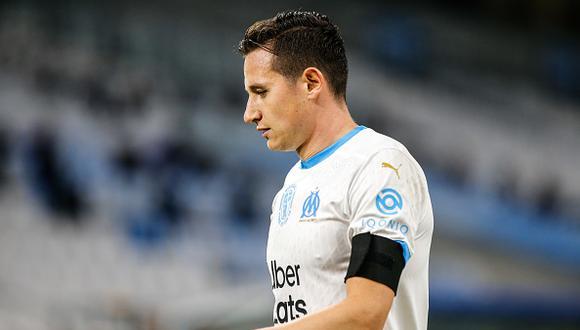 Florian Thauvin juega como volante en el Olympique de Marsella francés (Foto: Getty Images)