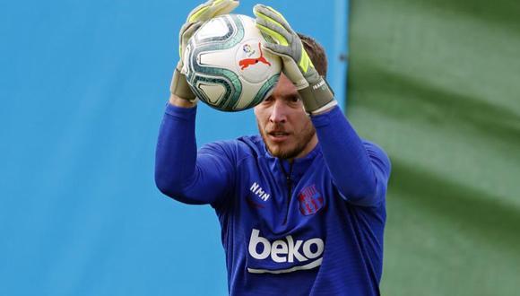 Neto hizo su debut con el Barcelona en la temporada enfrentando al Inter de Milán por la Champions League. (Foto: Agencias)