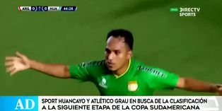 Sport Huancayo recibe a Argentinos Juniors por la Sudamericana