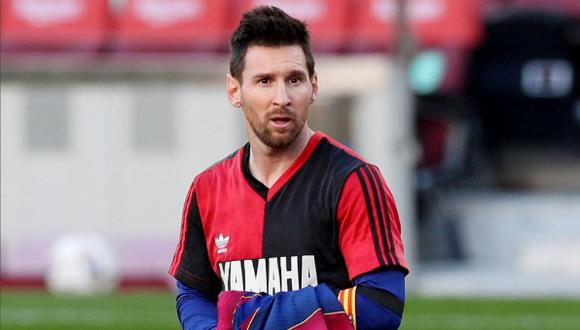 Barcelona goleó 4-0 al Osasuna con golazo y homenaje de Messi a Maradona. (Foto: FOX Sports)