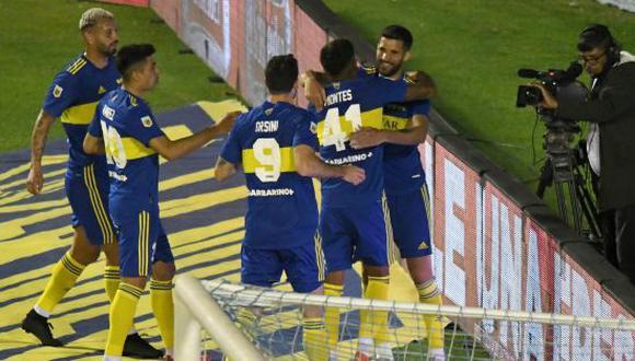 Boca Juniors derrotó 2-1 a Atlético Tucumán en la fecha 12 de la Liga Profesional de Argentina 2021. (Foto: Boca Juniors)