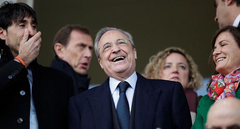 Florentino Pérez quiere a Neymar en el Real Madrid desde el 2014 cuando firmó por el Barcelona. (Getty)