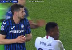 Empieza la polémica: la expulsión a Remo Freuler tras falta sobre Mendy en el Real Madrid vs. Atalanta [VIDEO]