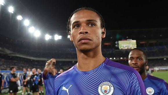 Leroy Sané tiene contrato con el Manchester City hasta el verano de 2021. (Getty)