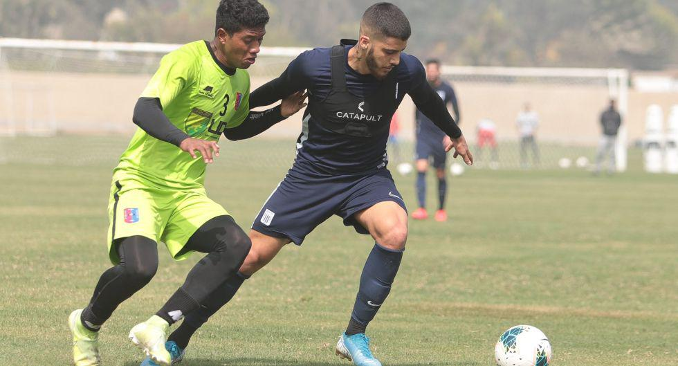 Alianza Lima y Alianza Universidad jugaron el Cieneguilla. (Foto: Prensa AL)
