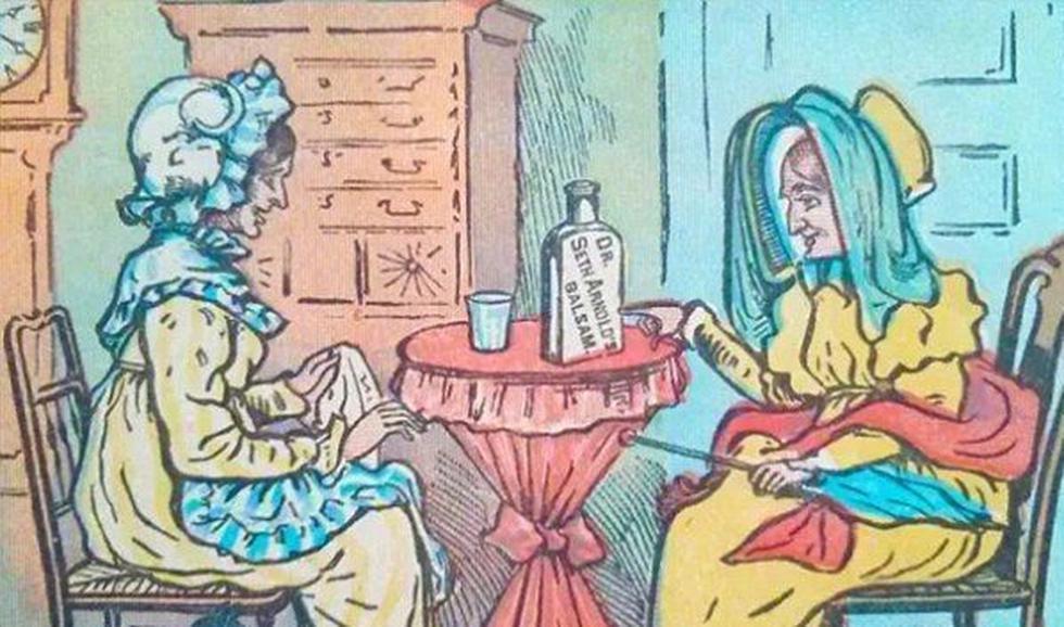 ¿Logras ver en la imagen de las señoras al minino de pigmentación clara de este desafío visual? (Playbuzz)