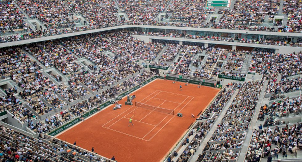 La cancha principal del Roland Garros es la Philippe-Chatrier. (Foto: Getty Images)