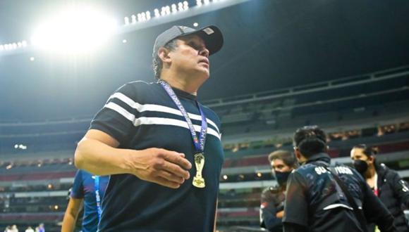 Juan Reynoso está cerca de renovar con Cruz Azul. (Foto: Agencias)