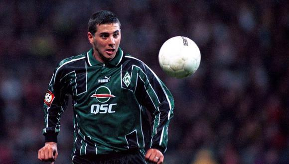 Claudio Pizarro llegó al Werder Bremen en 1999 procedente de Alianza Lima. (Foto: AFP)