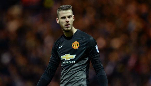 David de Gea tiene contrato con el Manchester United hasta el 2024. (Foto: Agencias)