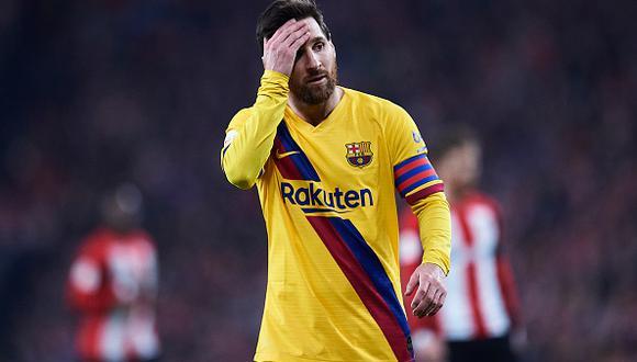 La Copa del Rey tendrá campeón nuevo: Athletic Club Bilbao eliminó a Barcelona en el último minuto. (Foto: Getty)