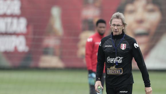 Ricardo Gareca anunció la lista de convocados de la selección peruana. (Foto: GEC)
