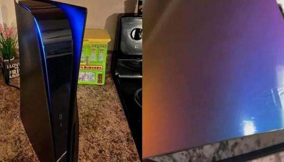 PS5: usuarios comienzan a personalizar sus consolas con impresionantes colores. (Foto: u/King_Acer)