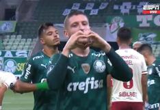 Sobre el final del primer tiempo: Zé Rafael colocó el 2-0 en el Universitario vs. Palmeiras [VIDEO]
