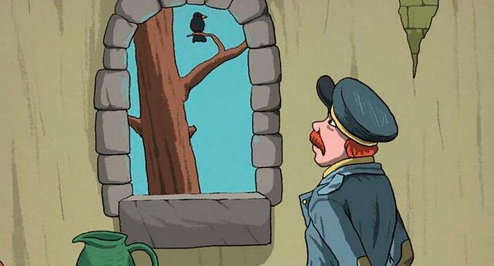 ¿Puedes resolver el acertijo viral y hallar el rostro oculto en el reto del sargento y el pajarito? (Difusión)