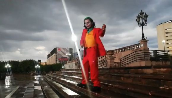 """El """"Joker"""" de México es la sensación en Internet (Facebook)"""
