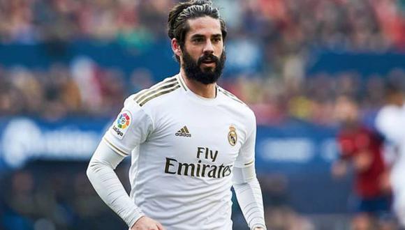 Isco tiene contrato con el Real Madrid hasta junio de 2022. (Foto: AFP)