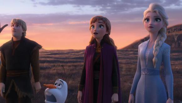 """Elsa, Anna, Olaf y Kristoff ya se encuentran en las salas de cine del mundo con la secuela de la película dirigida por Chris Buck y Jennifer Lee: """"Frozen 2""""."""