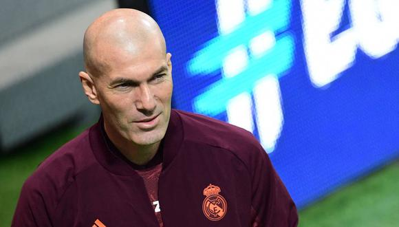 Zinedine Zidane ha ganado tres Champions League con Real Madrid. (Foto: AFP)