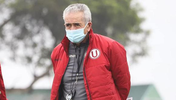 Gregorio Pérez dirigió ante Municipal su segundo partido desde su regreso a Universitario. (Foto: Universitario de Deportes)
