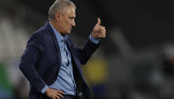 El entrenador de Brasil consideró que no existe un favorito en el duelo final de Copa América. (Foto: AP)