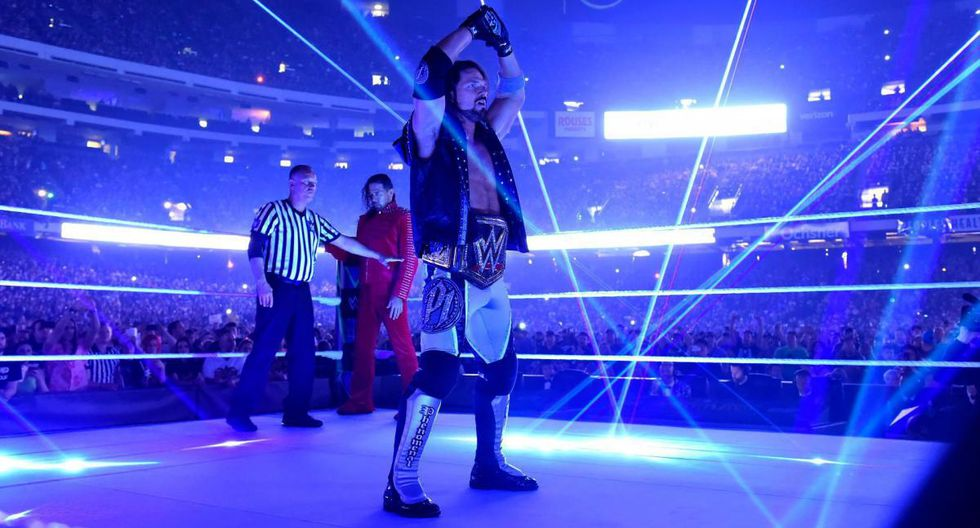 AJ Styles. (WWE)