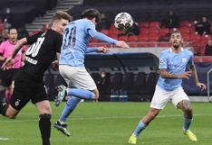 Cabezazo letal: Bernardo Silva marcó el primer del City ante Monchengladbach por la Champions [VIDEO]