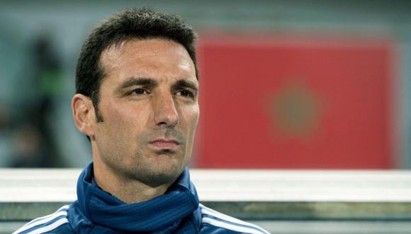 Lionel Scaloni se refirió a la posibilidad de que  Argentina sea campeón del mundo (Foto: AFP)