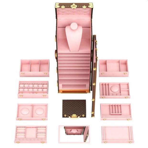 El joyero fue creado para celebrar la apertura de la nueva boutique Louis Vuitton en la famosa Place Vendôme (Paris). (Foto: Louis Vuitton)