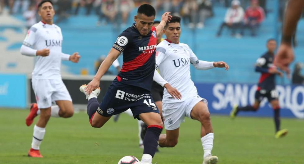 San Martín vs. Municipal por la Liga 1. (Violeta Ayasta)