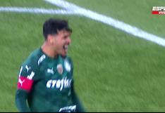 Ya es goleada: el tanto de Gustavo Gómez para el 3-0 en el Universitario vs. Palmeiras [VIDEO]