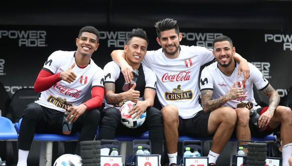 La Selección Peruana entrenó en el Estadio José Amalfitani. (Foto: FPF)