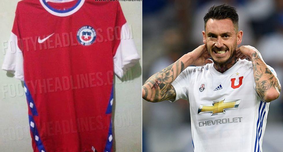 Mauricio Pinilla tuvo cruel comentario sobre la que sería la nueva camiseta de la selección de Chile. (Foto: Footy Healines / AFP)