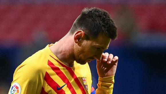 Lionel Messi termina contrato con el Barcelona en junio del próximo año. (Foto: AFP)