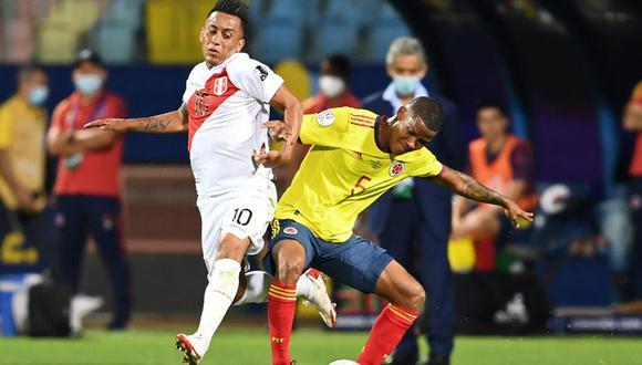 Perú y Colombia se enfrentaron en la fase de grupos de esta Copa América y el resultado terminó 2-1 a favor de la 'Bicolor'. (Foto: Agencias)