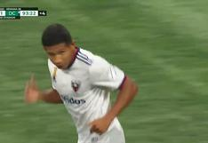 ¡Bombazo inatajable! Golazo de Edison Flores para el DC United en la MLS [VIDEO]