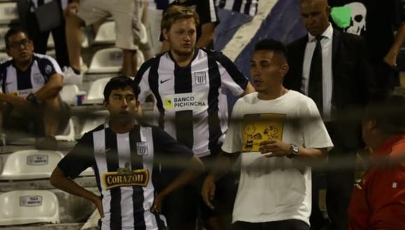 Alianza Lima | La reacción de Jean Deza al ver cómo perdían los blanquiazules en la Copa Libertadores