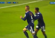 Apareció el '9': Emanuel Herrera marcó un golazo para el 1-0 de Sporting Cristal vs. Binacional