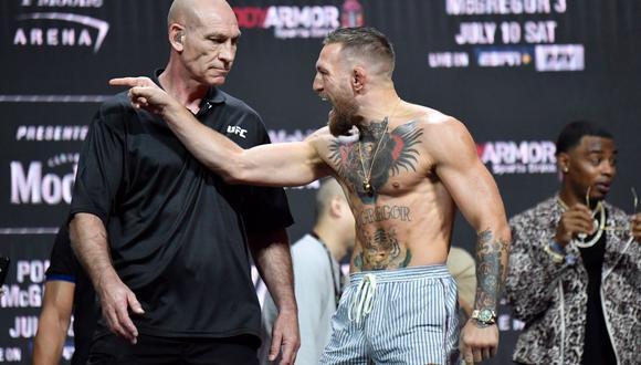 """Conor McGregor vuelve a la polémica: """"Soy el más rico de UFC, el más rico de la historia"""". (UFC)"""