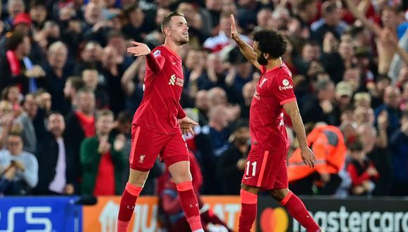 Liverpool venció por 3-2 al AC Milan en Anfield por Champions League. (Foto: AFP)