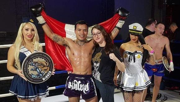 El peruano Renato Mansilla, de 27 años, tiene un récord de 19-5 como peleador profesional de muay thai. (Instagram)
