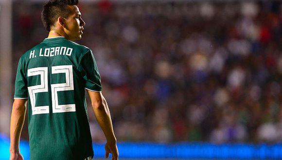 Hirving Lozano debutó con la Selección de México en el 2016. (Getty)