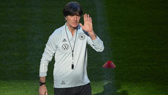 Joachim Löw fue contacto por el Barcelona en marzo. (Foto: AP)