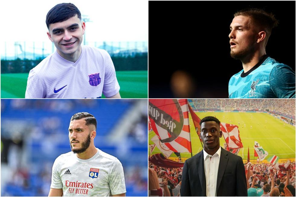Los futbolistas de 18 años con mejor valor en el mercado.
