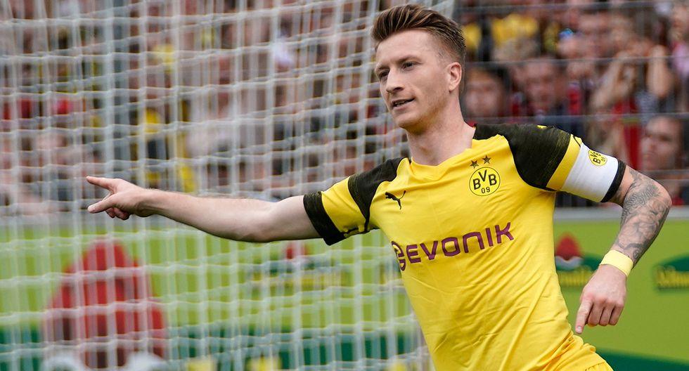 Marco Reus / Borussia Dortmund. (Foto: Agencias)