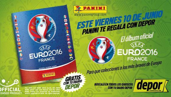 Depor te regala el álbum de la Eurocopa 2016 este viernes 10 de junio (Depor)