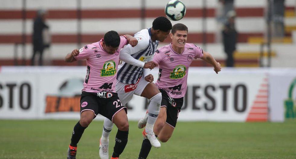 Alianza Lima vs. Sport Boys se enfrentaron en el estadio Miguel Grau , por la Fecha 1 del Torneo Clausura. (Foto: Jesús Saucedo)