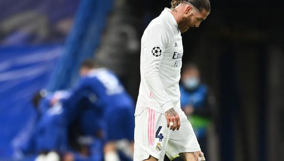 Sergio Ramos compartió un mensaje tras la eliminación de Real Madrid. (Foto: Reuters)