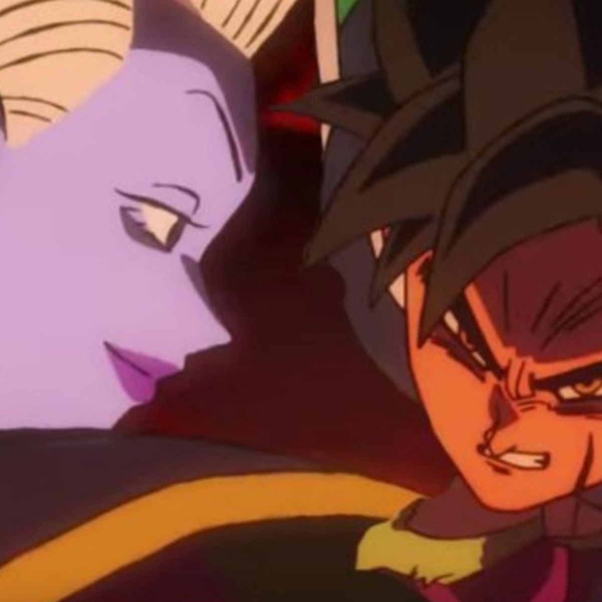 Dragon Ball Super Broly Increible Lucha Entre Whis Y Broly