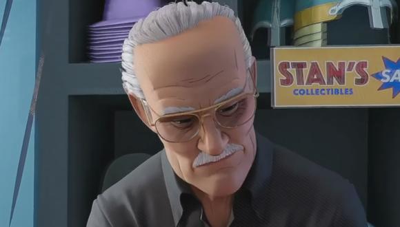 """El cameo de Stan Lee en """"Spider-Man: Into the Spider-Verse"""" escondió un triste secreto (Foto: Sony Pictures / Marvel Entertainment)"""